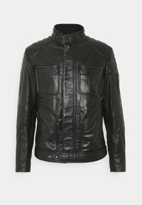 Belstaff - WEYBRIDGE JACKET - Kožená bunda - black - 5
