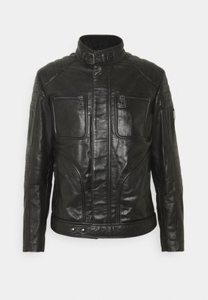 WEYBRIDGE JACKET - Kožená bunda - black