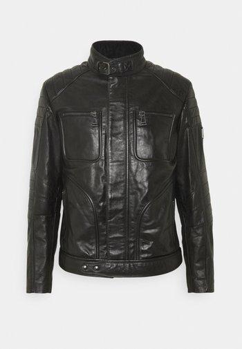 WEYBRIDGE JACKET - Leather jacket - black