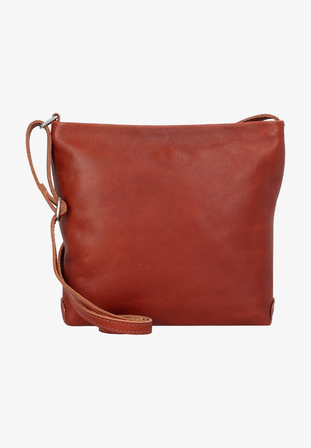 WALMER  - Across body bag - cognac