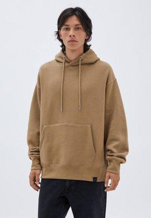 BASIC  - Felpa con cappuccio - brown