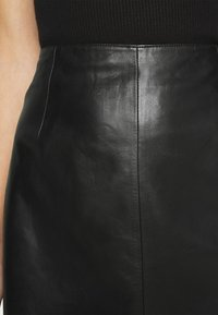 JUST FEMALE - MOON SKIRT - A-line skirt - black - 5