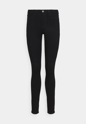 Jeggings - black rinse