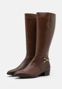 Högl - Vysoká obuv - nougat - 2