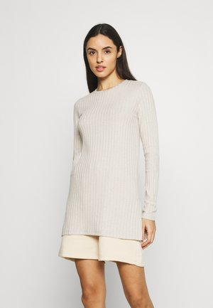 TARA - Long sleeved top - beige melange