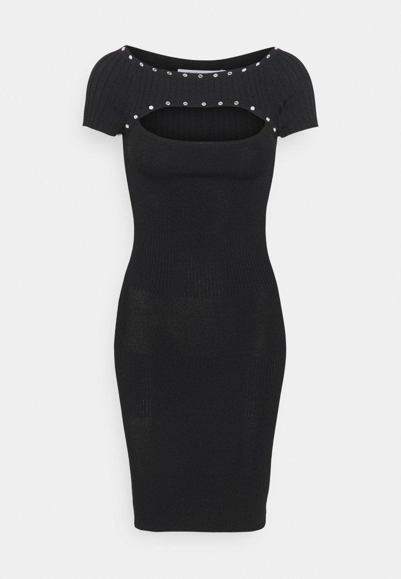 Patrizia Pepe - ABITO DRESS - Gebreide jurk - nero