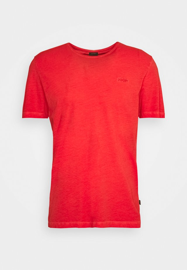 CLAYTON - T-shirt basique - red