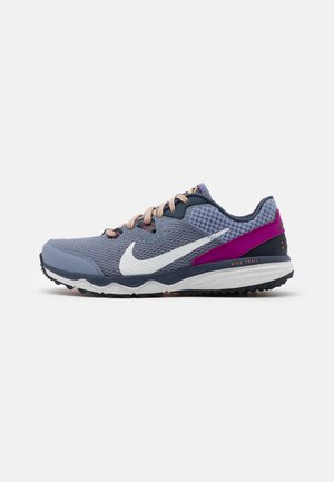JUNIPER TRAIL - Trail running shoes - ashen slate/photon dust/thunder blue/red plum/peach cream/dark obsidian