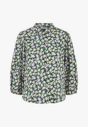 PCROSIA  - Button-down blouse - black