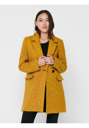 Classic coat - golden yellow