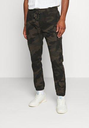 FINECAMOCRGO - Cargo trousers - khaki camo