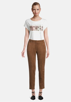 Leather trousers - bison