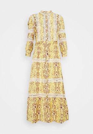 Maxi šaty - jaune