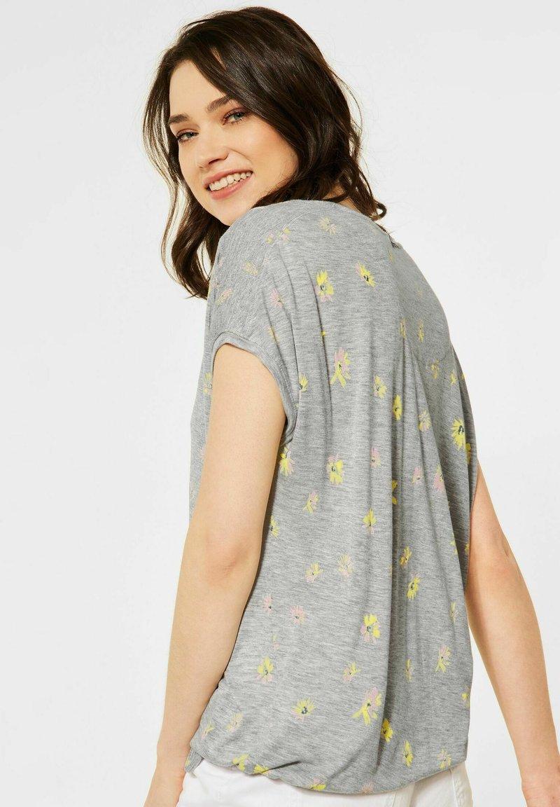Cecil - Print T-shirt - grey