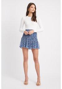 Kookai - A-line skirt - lq-blue - 1