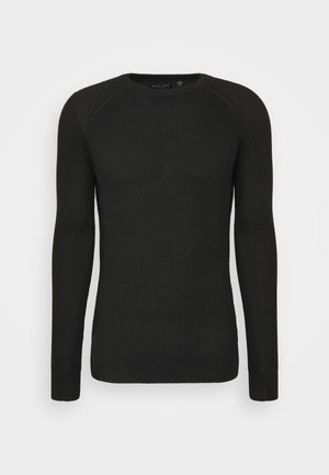 RECYCLEA - Jersey de punto - jet black