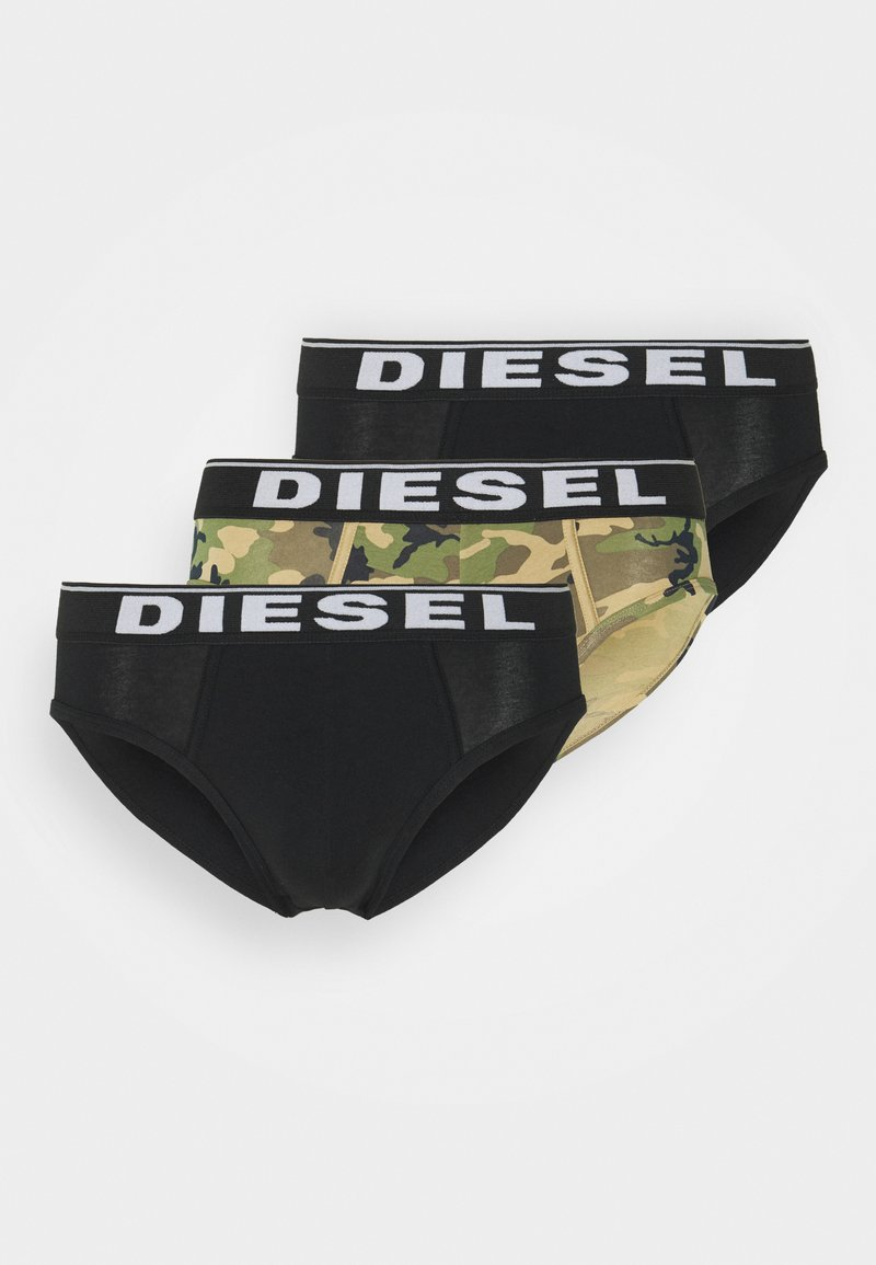 Diesel - ANDRE 3 PACK - Briefs - black