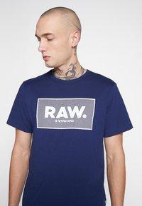 G-Star - BOXED GR - Camiseta estampada - imperial blue - 4