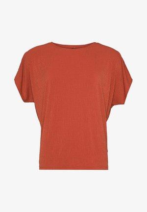 EXPLORE - Basic T-shirt - clay