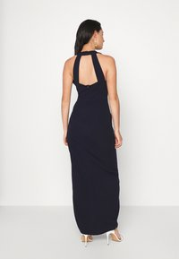 WAL G. - HALTER NECK DRESS - Suknia balowa - navy blue - 2