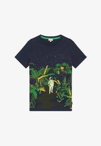 Paul Smith Junior - ADELIN - Print T-shirt - navy - 2