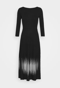 Patrizia Pepe - DRESS SEE THROUGH - Jumper dress - nero - 7