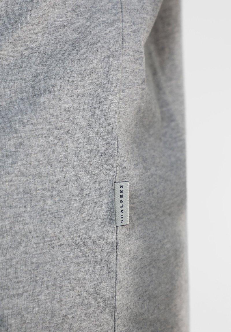 Scalpers T-Shirt print - grey melange/hellgrau dtwcO5