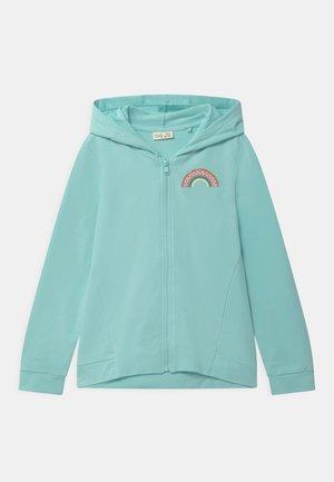 HOODY - Zip-up hoodie - bleached aqua