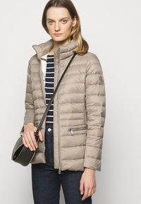 Lauren Ralph Lauren - SOFT COMBO MIXED QUILTS - Down jacket - taupe - 5
