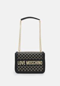 Love Moschino - BORSA AVORIO - Kabelka - black - 1