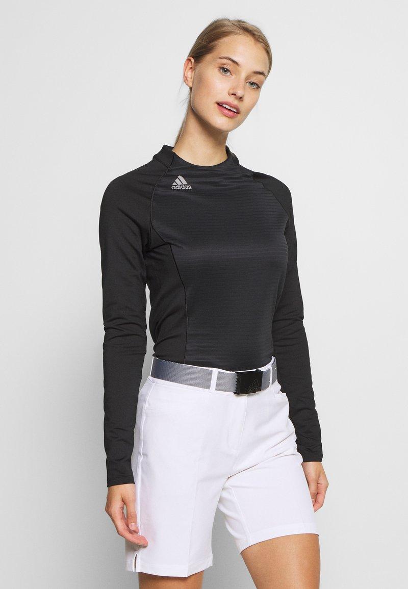adidas Golf - CLOLDREADY MOCK - Top sdlouhým rukávem - black