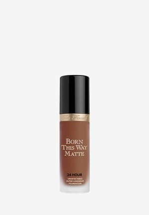 BORN THIS WAY MATTE FOUNDATION - Foundation - sable