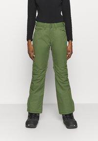 Roxy - BACKYARD - Zimní kalhoty - bronze green - 0