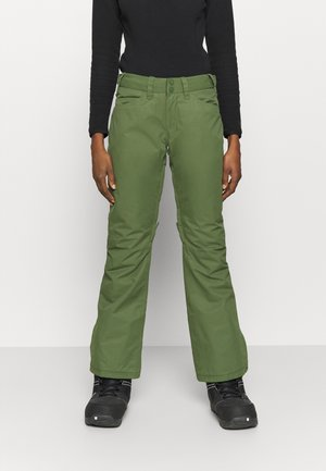 BACKYARD - Pantalon de ski - bronze green