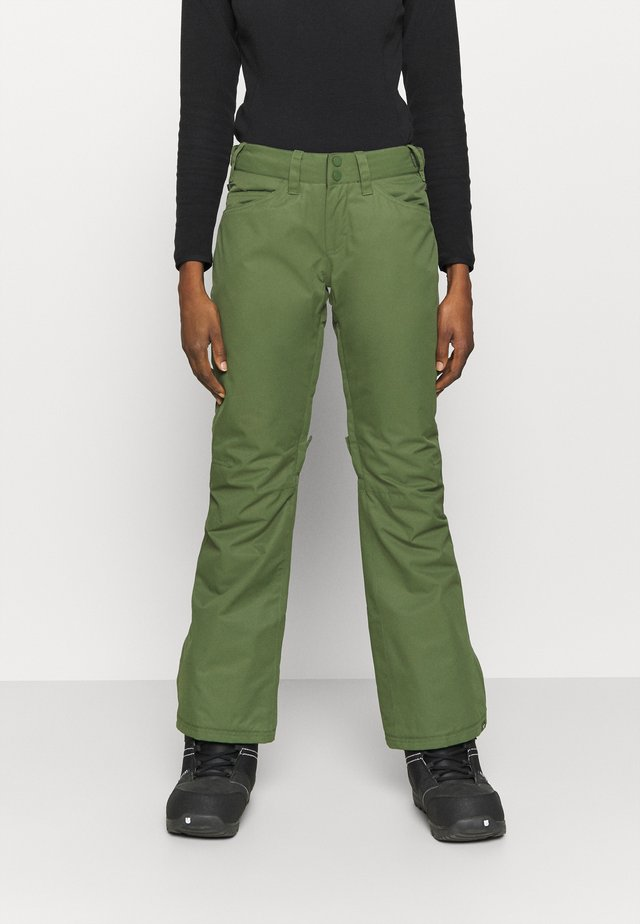 BACKYARD - Pantaloni da neve - bronze green