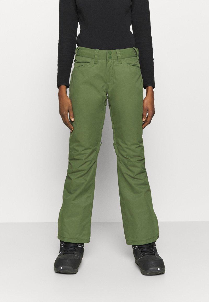 Roxy - BACKYARD - Zimní kalhoty - bronze green