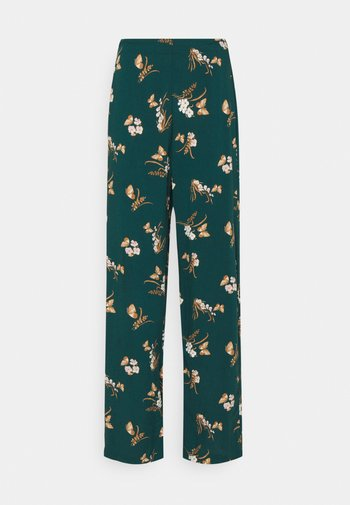 VMSIMPLY EASY WIDE PANT - Trousers - sea moss