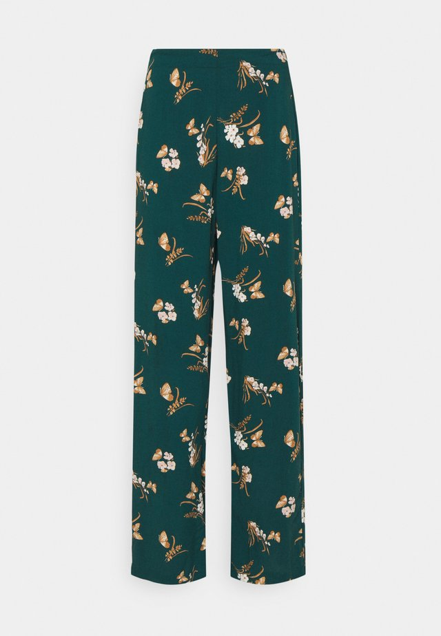 VMSIMPLY EASY WIDE PANT - Pantalon classique - sea moss