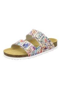 AFS Schuhe - ZWEISCHNALLER - Slippers - paint - 2
