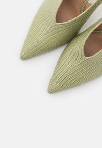 NA-KD - SEAM DETAILED SLINGBACK  - High heels - lime - 5