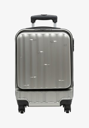 POCKET SMALL - Wheeled suitcase - silver