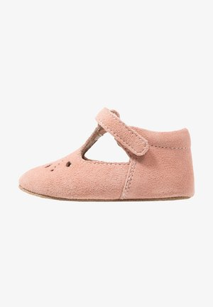 BLOOM HOME SHOE - Ensiaskelkengät - peach