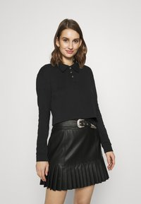 Zign - Long sleeved top - black - 0