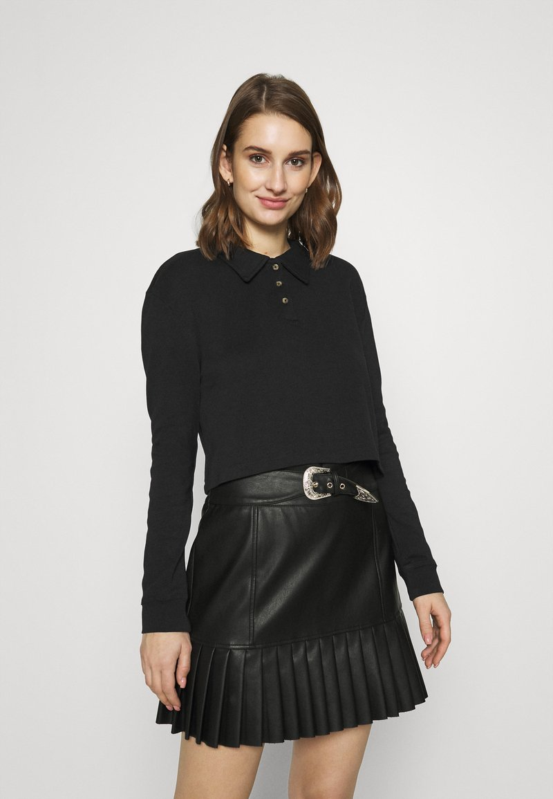 Zign - Long sleeved top - black