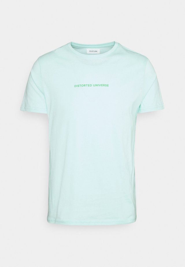UNISEX - T-shirt med print - mint