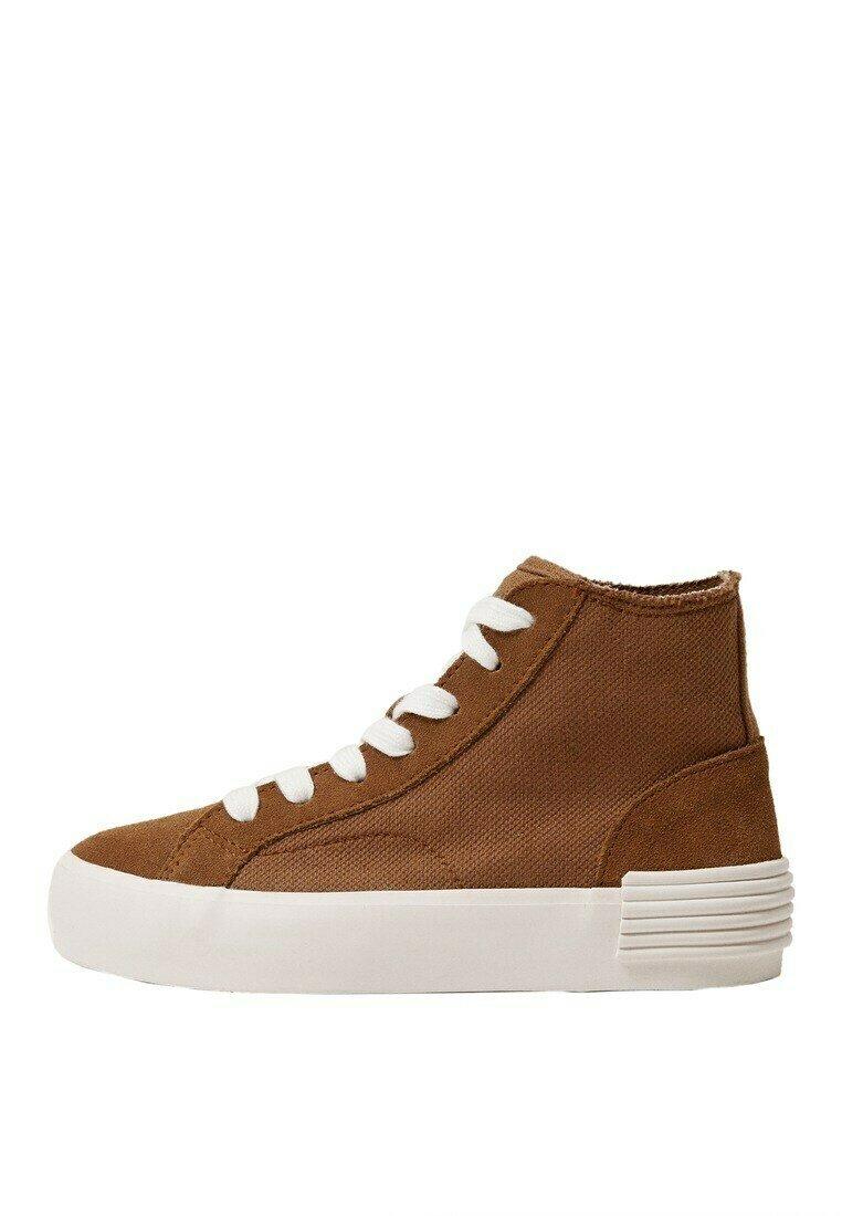 Børn KATOENEN MET VETERS - Sneakers high