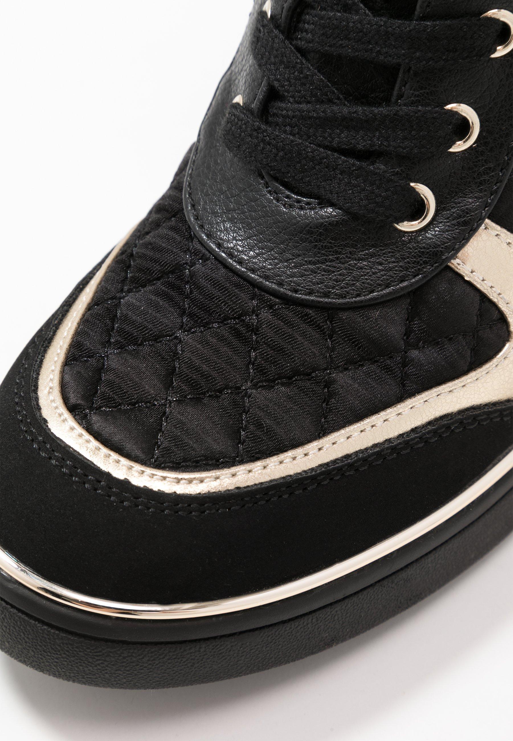 Anna Field Sneaker high black/schwarz
