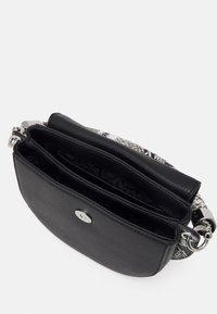 Calvin Klein - SADDLE BAG - Handbag - black - 2