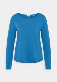 Marc O'Polo DENIM - LONG SLEEVE CREW NECK - Long sleeved top - cornflower - 0