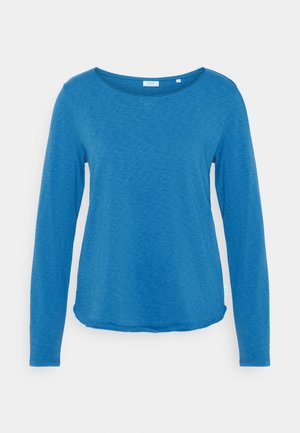 LONG SLEEVE CREW NECK - Long sleeved top - cornflower